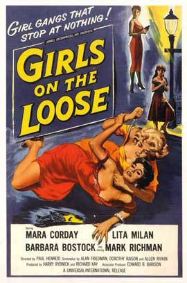 Girls on the Loose - 11 x 17 Movie Poster - Style A