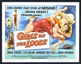 Girls on the Loose - 11 x 14 Movie Poster - Style B