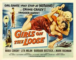 Girls on the Loose - 22 x 28 Movie Poster - Half Sheet Style A