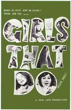 Girls That Do - 27 x 40 Movie Poster - Style A