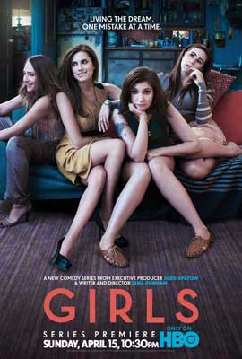 Girls (TV) - 11 x 17 TV Poster - Style A