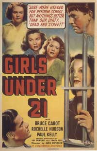 Girls Under 21 - 11 x 17 Movie Poster - Style A
