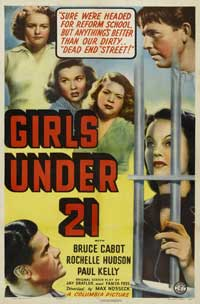 Girls Under 21 - 11 x 17 Movie Poster - Style B
