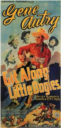 Git Along Little DogiesGit Along Little Dogies - 11 x 17 Movie Poster - Style B