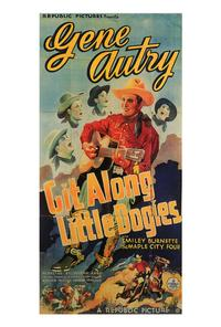 Git Along Little DogiesGit Along Little Dogies - 27 x 40 Movie Poster - Style B