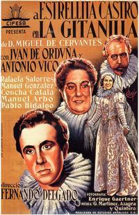 Gitanilla, La - 27 x 40 Movie Poster - Spanish Style A