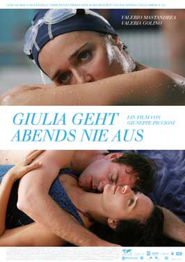 Giulia Doesn't Date at Night - 11 x 17 Movie Poster - German Style A