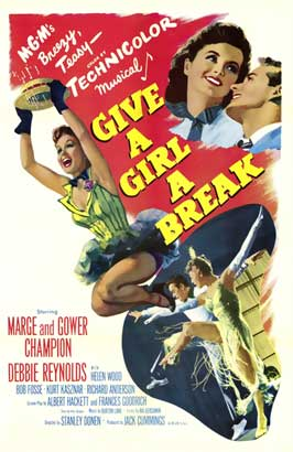 Give a Girl a Break - 11 x 17 Movie Poster - Style A