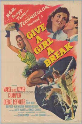 Give a Girl a Break - 27 x 40 Movie Poster - Style A