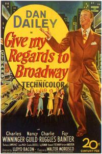 Give My Regards to Broadway - 43 x 62 Movie Poster - Bus Shelter Style A