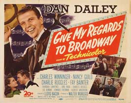 Give My Regards to Broadway - 22 x 28 Movie Poster - Half Sheet Style A