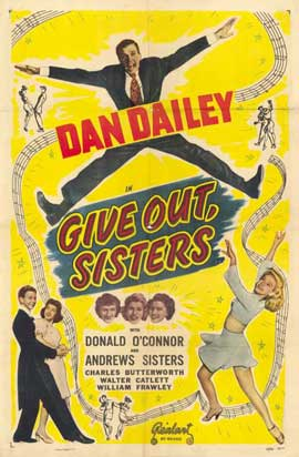 Give Out, Sisters - 11 x 17 Movie Poster - Style A