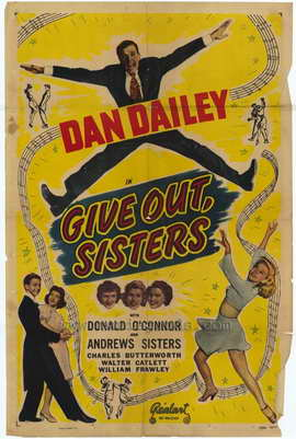 Give Out, Sisters - 27 x 40 Movie Poster - Style A
