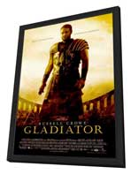 Gladiator - 11 x 17 Movie Poster - Style A - in Deluxe Wood Frame
