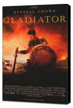 Gladiator - 27 x 40 Movie Poster - French Style A - Museum Wrapped Canvas