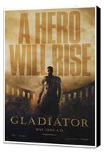 Gladiator - 27 x 40 Movie Poster - Style B - Museum Wrapped Canvas