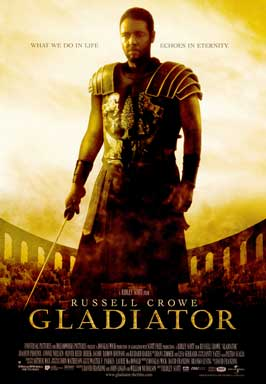 Gladiator - 43 x 62 Movie Poster - Bus Shelter Style A