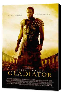 Gladiator - 11 x 17 Movie Poster - Style A - Museum Wrapped Canvas