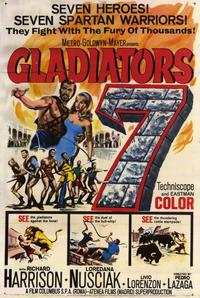 Gladiators 7 - 11 x 17 Movie Poster - Style A