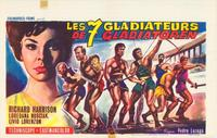 Gladiators 7 - 11 x 17 Movie Poster - Belgian Style A