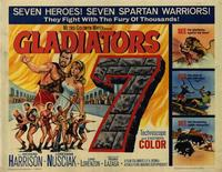 Gladiators 7 - 22 x 28 Movie Poster - Half Sheet Style A