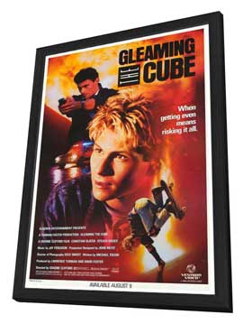Gleaming the Cube - 27 x 40 Movie Poster - Style B - in Deluxe Wood Frame