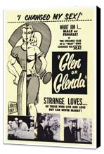 Glen or Glenda? - 27 x 40 Movie Poster - Style A - Museum Wrapped Canvas