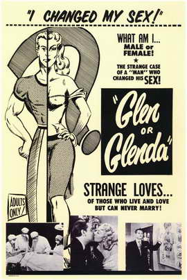 Glen or Glenda? - 11 x 17 Movie Poster - Style A