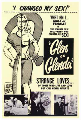 Glen or Glenda? - 27 x 40 Movie Poster - Style A