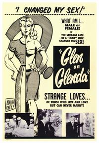 Glen or Glenda? - 43 x 62 Movie Poster - Bus Shelter Style A