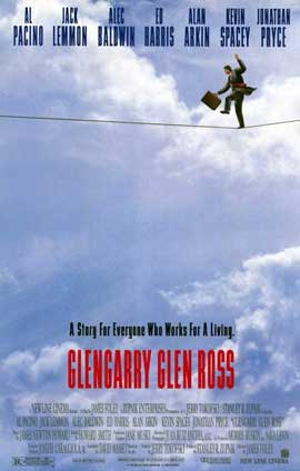 Glengarry Glen Ross - 11 x 17 Movie Poster - Style A
