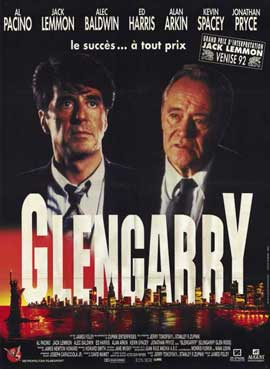 Glengarry Glen Ross - 11 x 17 Movie Poster - French Style A