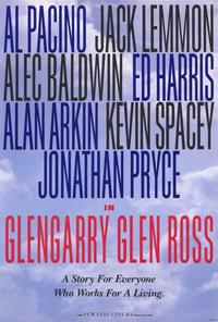 Glengarry Glen Ross - 11 x 17 Movie Poster - Style D