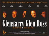 Glengarry Glen Ross - 30 x 40 Movie Poster UK - Style A