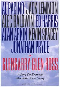 Glengarry Glen Ross - 27 x 40 Movie Poster - Style C
