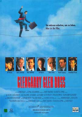 Glengarry Glen Ross - 27 x 40 Movie Poster - Style D