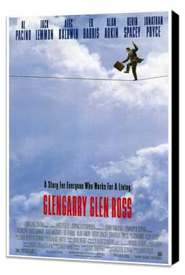 Glengarry Glen Ross - 27 x 40 Movie Poster - Style A - Museum Wrapped Canvas