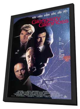 Glengarry Glen Ross - 11 x 17 Movie Poster - Style B - in Deluxe Wood Frame