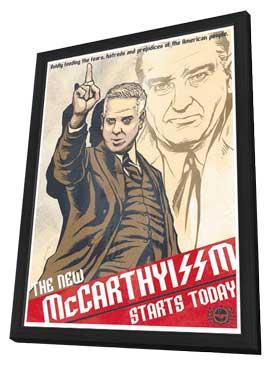 Glenn Beck - 11 x 17 Poster - The New McCarthyissm Starts Today11 x 17 Poster - The New McCarthyissm Starts Today - in Deluxe Wood Frame