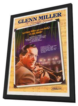 Glenn Miller: A Moonlight Serenade - 27 x 40 Movie Poster - Style A - in Deluxe Wood Frame
