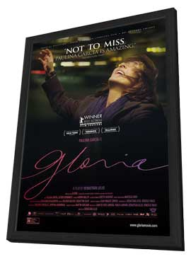 Gloria - 11 x 17 Movie Poster - Style A - in Deluxe Wood Frame