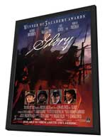 Glory - 11 x 17 Movie Poster - Style B - in Deluxe Wood Frame