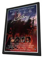 Glory - 27 x 40 Movie Poster - Style B - in Deluxe Wood Frame