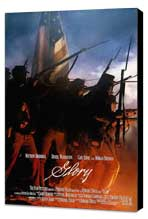 Glory - 27 x 40 Movie Poster - Style C - Museum Wrapped Canvas