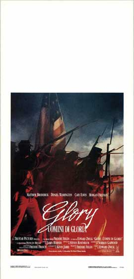 Glory - 13 x 28 Movie Poster - Italian Style A