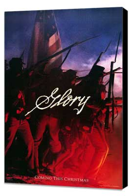 Glory - 27 x 40 Movie Poster - Style A - Museum Wrapped Canvas