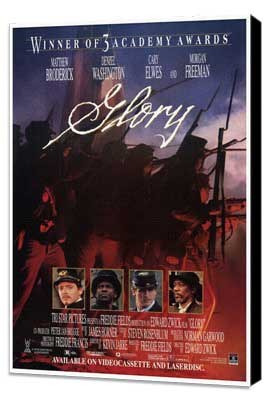 Glory - 27 x 40 Movie Poster - Style B - Museum Wrapped Canvas