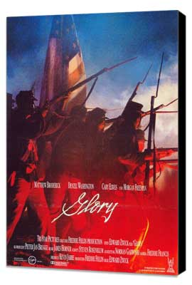 Glory - 27 x 40 Movie Poster - German Style A - Museum Wrapped Canvas