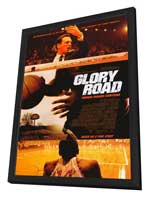 Glory Road - 27 x 40 Movie Poster - Style A - in Deluxe Wood Frame