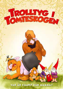 Gnomes (TV) - 11 x 17 TV Poster - Sweden Style A